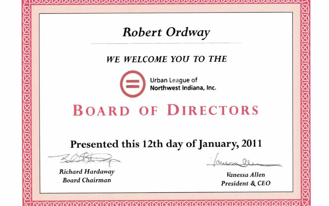 Urban League of NWI – Board of Directors