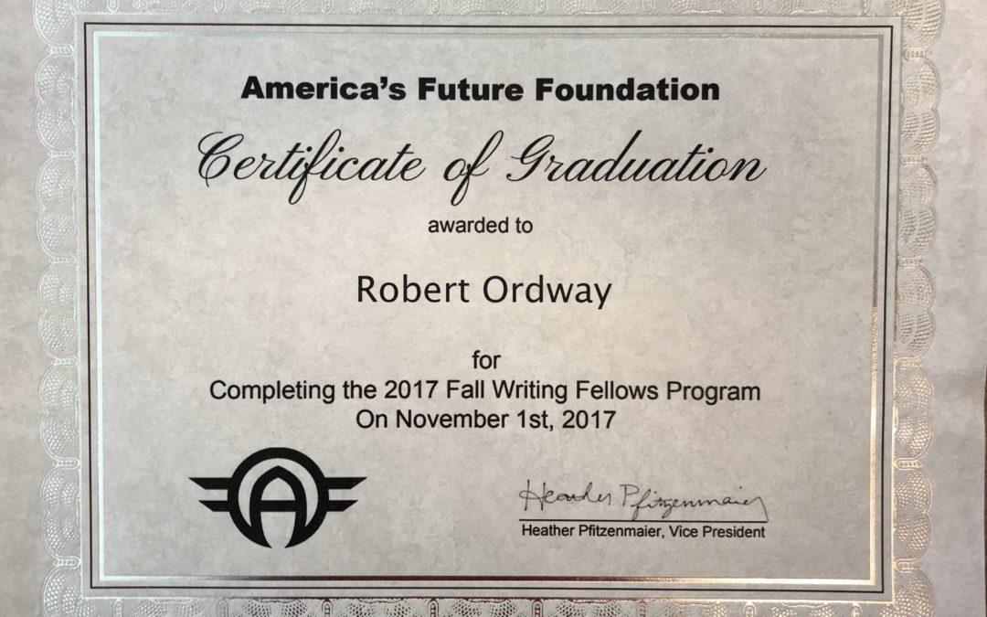 Writing Fellows Program – Fall 2017